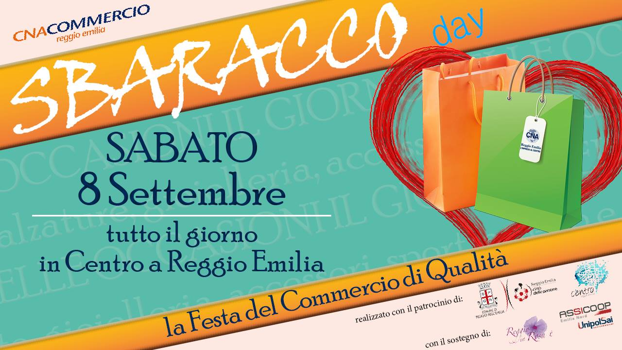 Sbaracco day – La festa del commercio di qualità | Portale ...