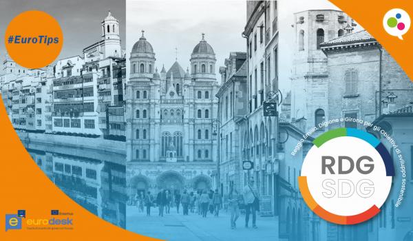 Reggio Emilia, Digione e Girona per gli Obiettivi di sviluppo sostenibile